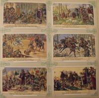 6 Chromo Liebig : Les Quatre Fils Aymon. 1943. S 1452 - Liebig