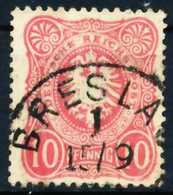 D-REICH KRONE ADLER Nr 41a Gestempelt X68AB96 - Used Stamps