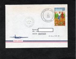 LSC 1985 - Cachet C.N.T. ABIDJAN  LETTRES  & Premier Jour  ABIDJAN  Sur Timbre - Côte D'Ivoire (1960-...)