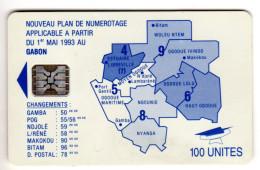 GABON REF MV CARDS GAB-22  SC5 100U - Gabon