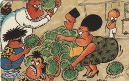 MALASIA. CARTOON. Durian. 10$. 1991. 7MSAB. (021) - Malasia