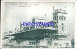 123545 CHILE SANTIAGO CLUB HIPICO TRIBUNAS DE LA CLASE POSTAL POSTCARD - Chile