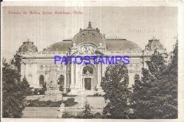 123546 CHILE SANTIAGO PALACIO DE BELLAS ARTES POSTAL POSTCARD - Chile