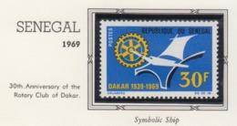 Rotary International 1969 SENEGAL MNH - Rotary, Lions Club