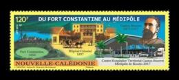 New Caledonia 2019 Mih. 1785 Medicine. Physician Gaston Bourret MNH ** - Nueva Caledonia