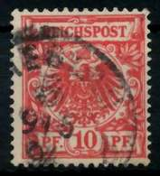 D-REICH KRONE ADLER Nr 47c Gestempelt Gepr. X726F9A - Used Stamps