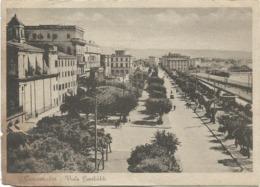 Z5105 Civitavecchia (Roma) - Viale Garibaldi - Panorama / Viaggiata 1948 - Civitavecchia