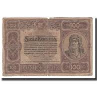 Billet, Hongrie, 100 Korona, 1920, 1920-01-01, KM:63, B - Hungary
