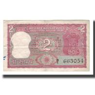 Billet, Inde, 2 Rupees, KM:53e, TB - Inde