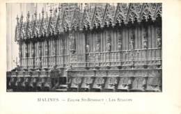 MALINES - Eglise St-Rombaut - Les Stalles - Malines