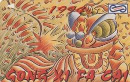 MALASIA. New Year 1994 - 1. 10$. 1992. 74MSAA. (029) - Malasia