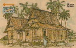 MALASIA. Rumah Melaka. 10$. 1992. 33MSAB. (025) - Malasia