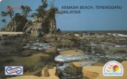 MALASIA. Kemasik Beach, Terengganu. 10$. 1992. 28MSAA. (017) - Malasia