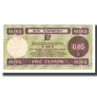 Billet, Pologne, 5 Cents, 1973, 1973-07-01, KM:FX49, SUP+ - Polonia