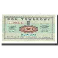 Billet, Pologne, 1 Cent, 1973, 1973-07-01, KM:FX47, SUP - Polonia