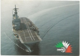 Z5125 Incrociatore Portaerei Giuseppe Garibaldi - Marina MIlitare Italiana - Navi Ships Bateaux / Non Viaggiata - Warships