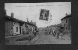 51 - VERRIERES - Grande Rue - 1908 ,#51/013 - Autres Communes