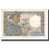 France, 10 Francs, 1941-1949, 1946-12-19, SUP, Fayette:08.16, KM:99e - 1871-1952 Gedurende De XXste In Omloop