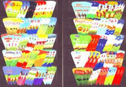 Algérie- Superbe Collection- Lot De 3 X 100 étiquettes Différentes (Frais D'envois Courrier Suivi, Recommandé Offerts). - Fromage