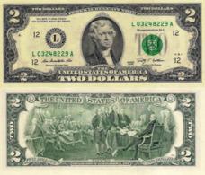 USA, 2 Dollars Commemorative, Reserve Bank Of San Francisco (L), P530, 2009, UNC - Andere