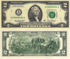 USA, 2 Dollars Commemorative, Reserve Bank Of Boston (A), P516b, 2003, UNC - Andere