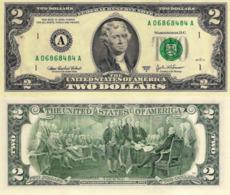 USA, 2 Dollars Commemorative, Reserve Bank Of Boston (A), P516b, 2003, UNC - Sonstige
