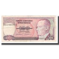 Billet, Turquie, 100 Lira, L.1970 (1984), KM:194b, TTB+ - Turkije