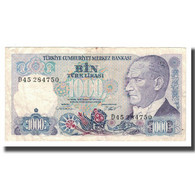 Billet, Turquie, 1000 Lira, L.1970, Undated (1986), KM:196, TTB+ - Türkei