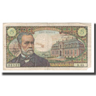 France, 5 Francs, 1966, 1966-11-04, TB, Fayette:61.04, KM:146a - 1962-1997 ''Francs''