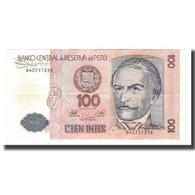 Billet, Pérou, 100 Intis, 1987, 1987-06-26, KM:133, SPL - Perú