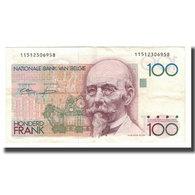 Billet, Belgique, 100 Francs, Undated (1982-94), KM:142a, SUP+ - [ 2] 1831-... : Regno Del Belgio