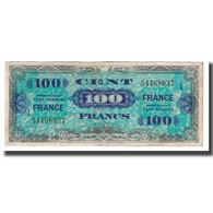 France, 100 Francs, 1944, TTB, Fayette:VF25.04, KM:123a - Schatkamer