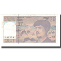 France, 20 Francs, 1997, SPL, Fayette:66ter.02A58, KM:151i - 1962-1997 ''Francs''