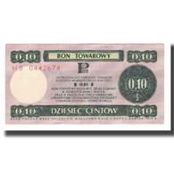 Billet, Pologne, 10 Cents, 1973, 1973-07-01, KM:FX50, SUP - Pologne