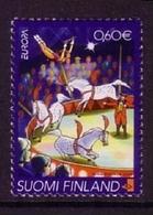 FINNLAND MI-NR. 1623 POSTFRISCH(MINT) EUROPA 2002 ZIRKUS PFERDE IN DER MANEGE - 2002