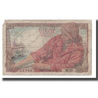 France, 20 Francs, 1942, 1942-05-21, B+, Fayette:13.02, KM:100a - 1871-1952 Antichi Franchi Circolanti Nel XX Secolo