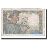 France, 10 Francs, 1945, 1945-04-26, TTB, Fayette:08.14, KM:99e - 1871-1952 Gedurende De XXste In Omloop