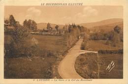 """CPA FRANCE 03 """"Lavoine, La Gare Et Le Col Du Beaulouis"""" - France"""