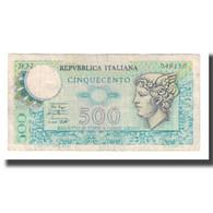 Billet, Italie, 500 Lire, 1974-1979, KM:94, TB+ - 500 Lire