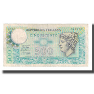 Billet, Italie, 500 Lire, 1974-1979, KM:94, TB+ - [ 2] 1946-… : Repubblica