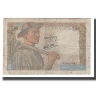 France, 10 Francs, 1944, 1944-06-22, TB, Fayette:08.12, KM:99e - 1871-1952 Gedurende De XXste In Omloop