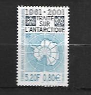 TAAF  2001 Traité Sur L' Antartique   Cat Yt   N° 306    N** MNH - Ongebruikt
