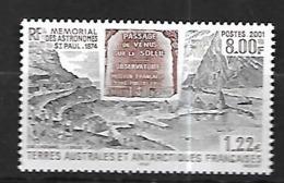 TAAF  2001   Mémorial  Des Astronomes à St Paul  Cat Yt   N° 297     N** MNH - Ongebruikt