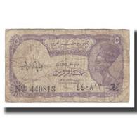 Billet, Égypte, 5 Piastres, L.1940, KM:182i, B+ - Egypte