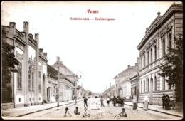 Serbia / Hungary: Versec (Vršac / Werschetz), Residenzgasse 1908 - Serbien