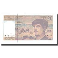France, 20 Francs, 1980-1997, 1992, NEUF, Fayette:66bis.03, KM:151f - 1962-1997 ''Francs''