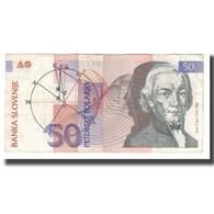 Billet, Slovénie, 50 Tolarjev, 1992, 1992-01-15, KM:13a, TTB+ - Slovénie
