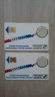Telefonkarten - Telecarte (Frankreich) - 2 Exemplare - Zonder Classificatie