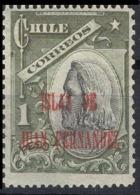 """1910 Chile S.s. """"islas De Juan Fernandez 5 10 Ct. Y 20 Ct."""" 4v. - Chili"""