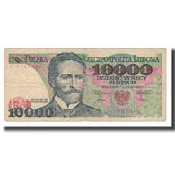 Billet, Pologne, 10,000 Zlotych, 1987, 1987-02-01, KM:151a, TB+ - Poland